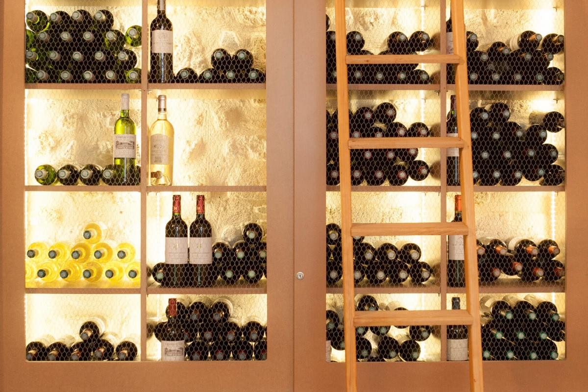 Bouteilles de vin Chez Dupont Bordeaux